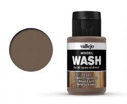 VALLEJO PAINT -  OILED EARTH -  MODEL WASH 76521