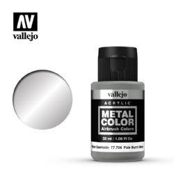 VALLEJO PAINT -  PALE BURNT METAL -  METAL COLOR 77704
