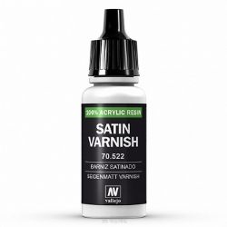 VALLEJO PAINT -  SATIN VARNISH -  VARNISH 70522