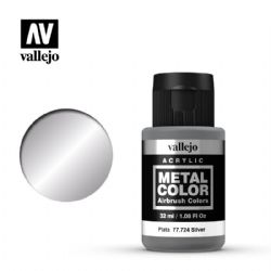VALLEJO PAINT -  SILVER -  METAL COLOR 77724