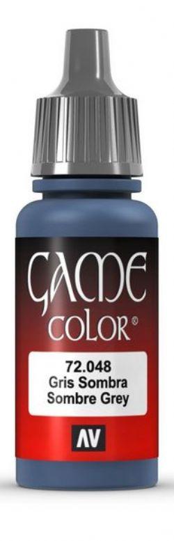 VALLEJO PAINT -  SOMBRE GREY -  GAME COLOR 72048