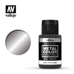 VALLEJO PAINT -  STEEL -  METAL COLOR 77712