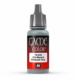 VALLEJO PAINT -  STONEWALL GREY -  GAME COLOR 72049