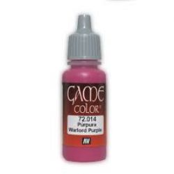 VALLEJO PAINT -  WARLORD PURPLE -  GAME COLOR 72014