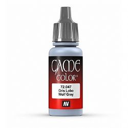 VALLEJO PAINT -  WOLF GREY -  GAME COLOR 72047