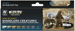 VALLEJO PAINT -  WOODLAND CREATURES -  WIZKIDS PREMIUM PAINTS