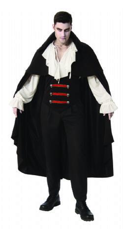 VAMPIRE -  ELEGANT VAMPIRE COSTUME (ADULT)