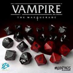 VAMPIRE: THE MASQUERADE -  DICE SET