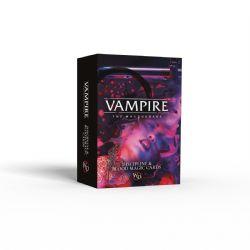 VAMPIRE: THE MASQUERADE -  DISCIPLINE & BLOOD MAGIC CARDS (ENGLISH)
