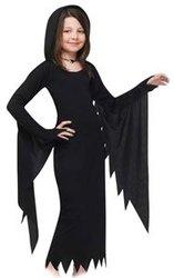 VAMPIRE -  VAMPIRE COSTUME - HOODED DRESS (CHILD)
