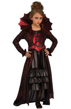 VAMPIRE -  VICTORIAN VAMPIRE COSTUME (CHILD)
