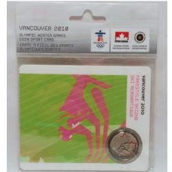 VANCOUVER 2010 -  2010 VANCOUVER OLYMPIC GAMES COIN CARD - FREESTYLE SKIING 2008 -  2007-2010 CANADIAN COINS 07