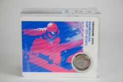 VANCOUVER 2010 -  2010 VANCOUVER OLYMPIC GAMES COIN CARD - SNOWBOARDING 2008 -  2007-2010 CANADIAN COINS 06