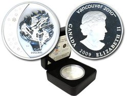 VANCOUVER 2010 -  OLYMPIC SPIRIT -  2009 CANADIAN COINS 13