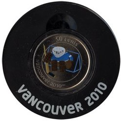 VANCOUVER 2010 -  QUATCHI - 2010 VANCOUVER OLYMPIC GAMES MASCOT -  2010 CANADIAN COINS