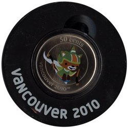 VANCOUVER 2010 -  SUMI - 2010 VANCOUVER OLYMPIC GAMES MASCOT -  2010 CANADIAN COINS