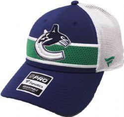 VANCOUVER CANUCKS -  CAP - BLUE/GREEN/WHITE - ADJUSTABLE
