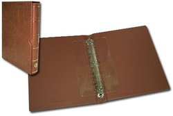 VARIO-F -  BROWN RINGBINDER WITH SLIPCASE