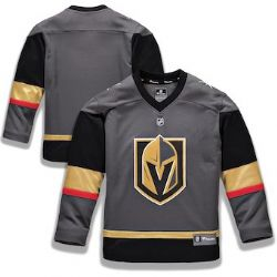 VEGAS GOLDEN KNIGHTS -  CHARCOAL REPLICA JERSEY (YOUTH)