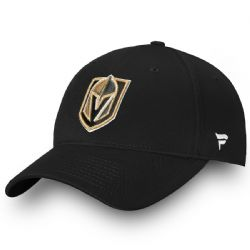 VEGAS GOLDEN KNIGHTS -  LOGO ADJUSTABLE CAP - BLACK