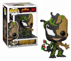 VENOM -  POP! VINYL BOBBLE-HEAD OF VENOMIZED GROOT (4 INCH) -  SPIDER-MAN: MAXIMUM VENOM 601