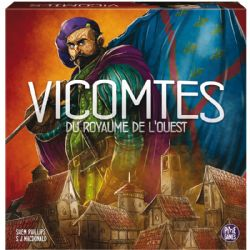VICOMTES DU ROYAUME DE L'OUEST -  BASE GAME (FRENCH)