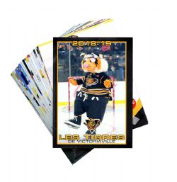 VICTORIAVILLE TIGRES -  (25 CARDS) -  2018-19