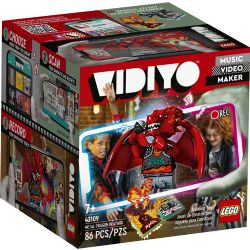 VIDIYO -  METAL DRAGON BEATBOX (86 PIECES) 43109
