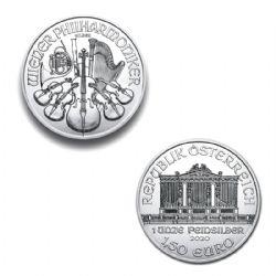 VIENNA PHILARMONIC - 1 OUNCE FINE SILVER COIN -  2016 AUSTRIA COINS
