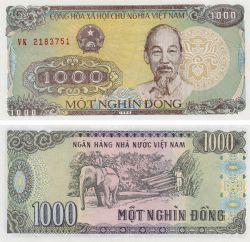 VIETNAM -  1000 DONG 1988 (UNC)