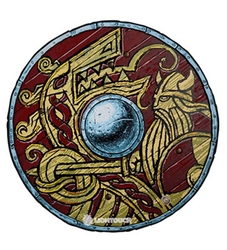 VIKINGS -  HARALD SHIELD