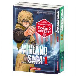 VINLAND SAGA -  PACK DÉCOUVERTE TOMES 01 ET 02 (FRENCH V.)