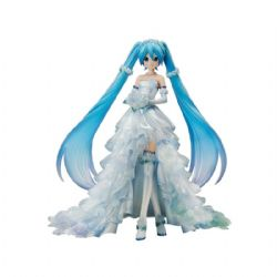 VOCALOID -  HATSUNE MIKU WEDDING DRESS VER. FIGURE (9.5