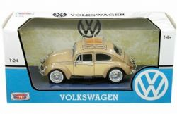 VOLKSWAGEN -  BEETLE 1966 WITH LUGGAGE RACK 1/24