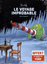 VOYAGE IMPROBABLE, LE -  COFFRET (TOME 01-02 + PAPER-TOY)