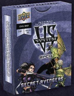 VS SYSTEM -  SECRET AVENGERS (ENGLISH)