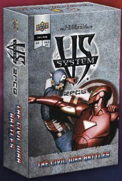 VS SYSTEM -  THE CIVIL WAR BATTLES (ENGLISH)