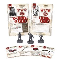 WALKING DEAD -  ALL OUT WAR - TYREESE BOOSTER (MULTILINGAL)