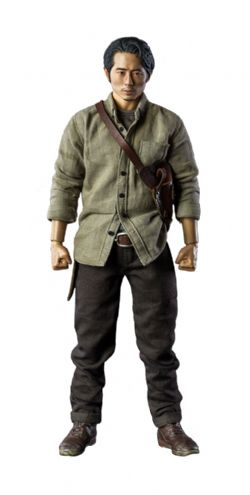 WALKING DEAD -  GLENN RHEE ACTION FIGURE (11INCHES