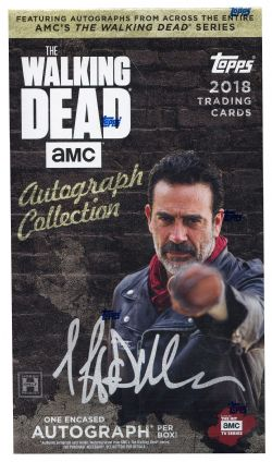 WALKING DEAD -  TRADING CARDS - AUTOGRAPH COLLECTION 2018 (1)