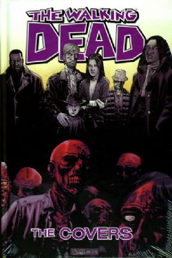 WALKING DEAD -  USED BOOK - THE COVERS HC 01