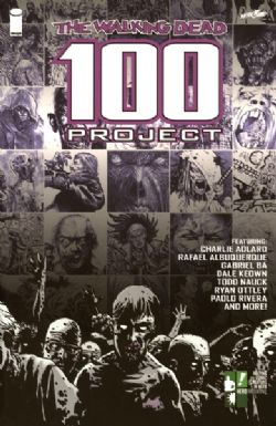 WALKING DEAD -  USED BOOK - THE WALKING DEAD 100 PROJECT TP (ENGLISH)