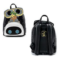 WALL-E -  WALL-E AND EVE BACKPACK -  LOUNGEFLY