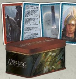 WAR OF THE RING (SECOND EDITION) -  CARD BOX AND SLEEVES (ENGLISH)