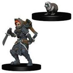 WARDLINGS -  GIRL ROGUE WITH BADGER