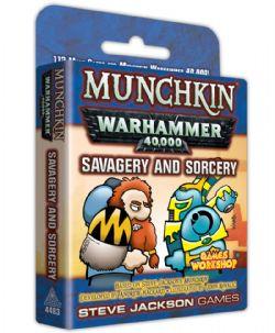 WARHAMMER 40,000 -  MUNCHKIN - SAVAGERY AND SORCERY (ENGLISH)