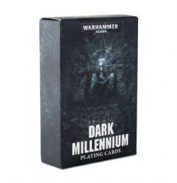 WARHAMMER 40K -  DARK MILLENNIUM - PLAYING CARDS