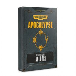 WARHAMMER 40K -  DATASHEET CARDS AELDARI -  APOCALYPSE