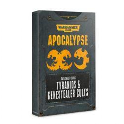 WARHAMMER 40K -  DATASHEET CARDS TYRANIDS & GENESTEALER CULTS -  APOCALYPSE