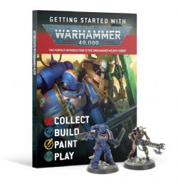 WARHAMMER 40K -  GETTING STARTED WITH WARHAMMER 40K (ENGLISH)